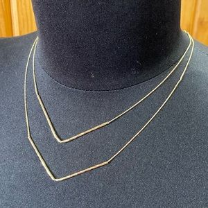 New American Eagle Gold Necklace
